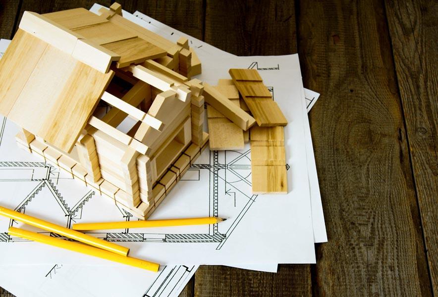 Case in legno a telaio e XLAM